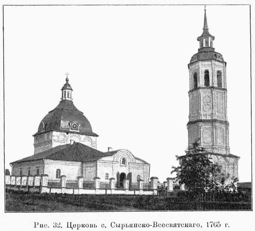 Церковь Всех Святых, Всехсвятское