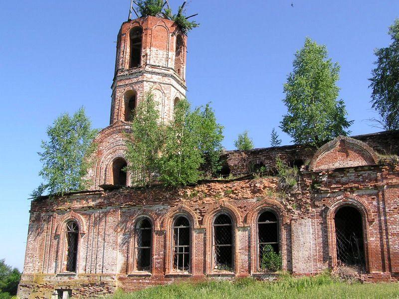 Церковь Казанской иконы Божией Матери, Желтые