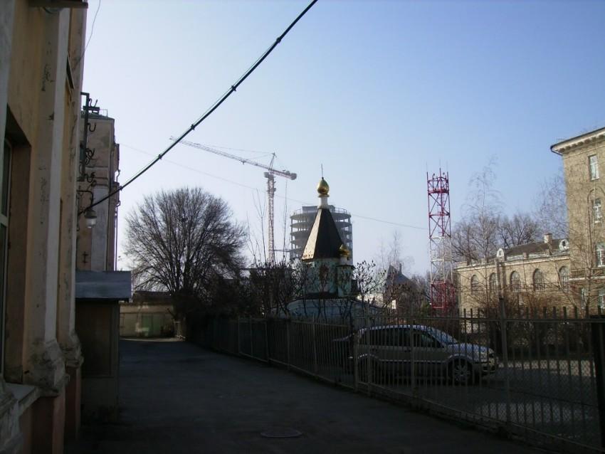 Часовня Кирилла и Мефодия при колледже связи, Ростов-на-Дону