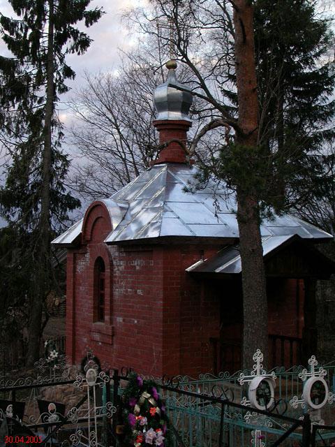 Церковь в память рождения цесаревича алексея при короцком монастыре в городе бологое