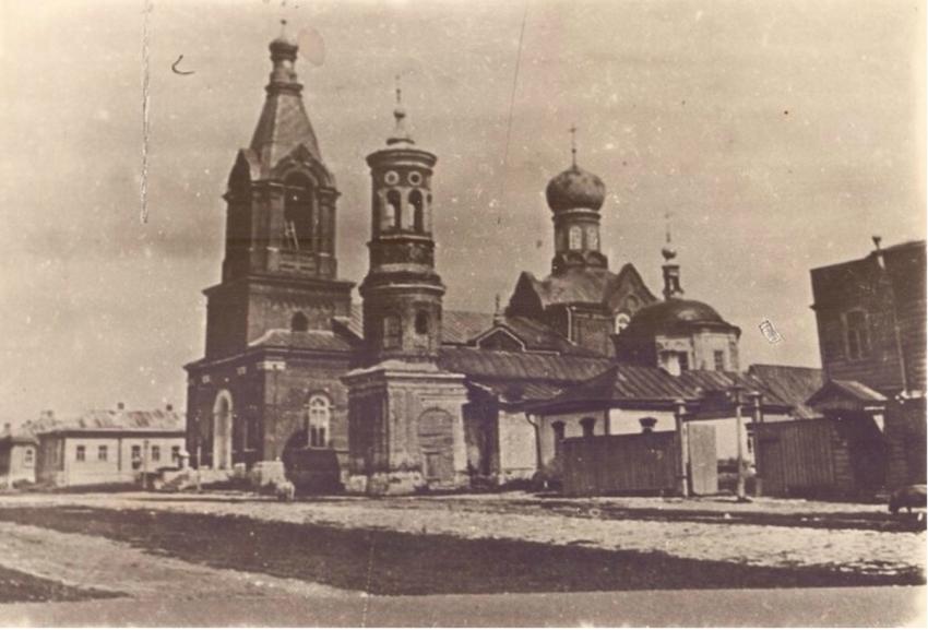Церковь Благовещения Пресвятой Богородицы, Пронск