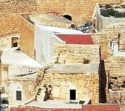 Часовня Иоанна Крестителя и келья Иоанна Дамаскина - Иудейская пустыня, Вади Кедрон - Палестина - Прочие страны