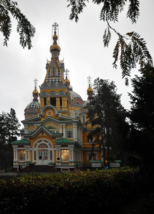 Кафедральный собор Вознесения Господня-Алматы-г. Алматы-Казахстан