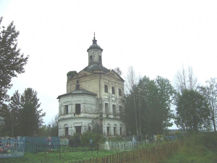 Церковь Василия Великого, Иконниково (Опариха)