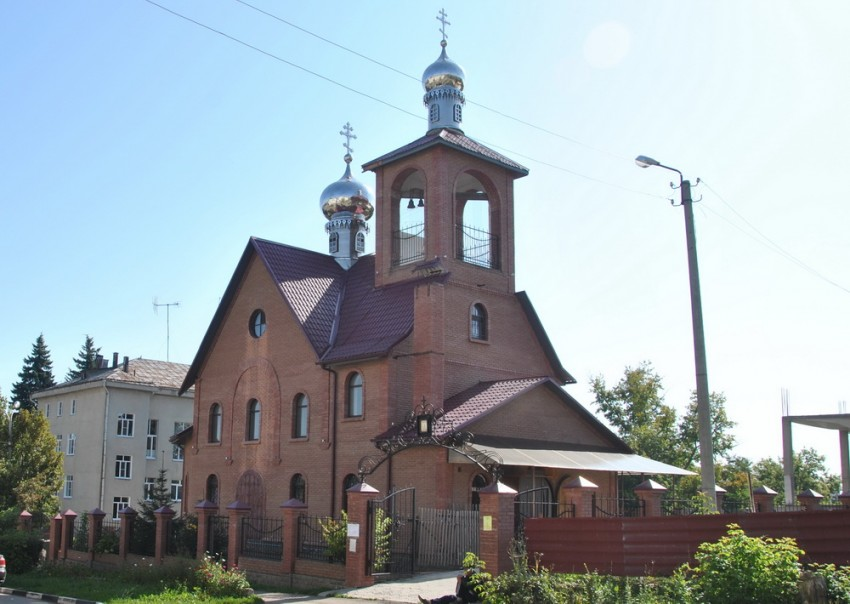 Церковь Николая Чудотворца, Ефремов