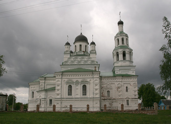 Церковь Троицы Живоначальной-Улла-Бешенковичский район-Беларусь, Витебская область