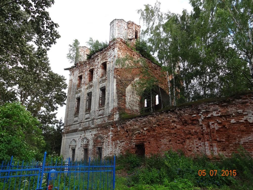 Церковь Иоанна Богослова, Погостец