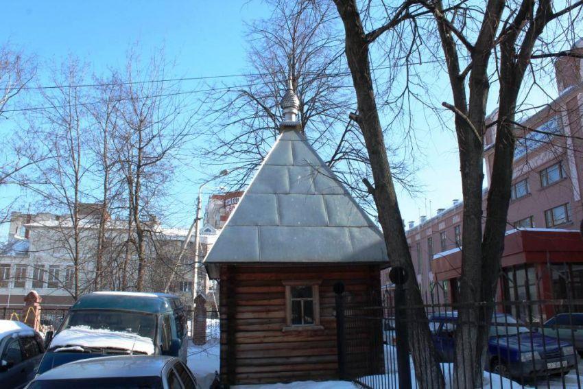 Часовня Василия Великого при техникуме железнодорожного транспорта, Вологда