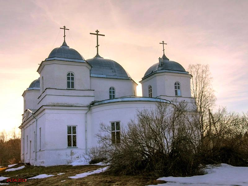 Церковь Троицы Живоначальной, Большое Городно