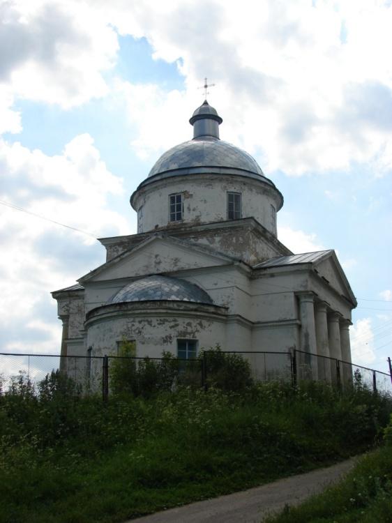 Церковь Димитрия Солунского, Дареевск