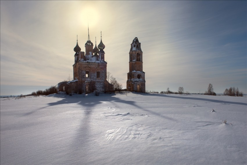 Церковь Илии Пророка, Усово, урочище
