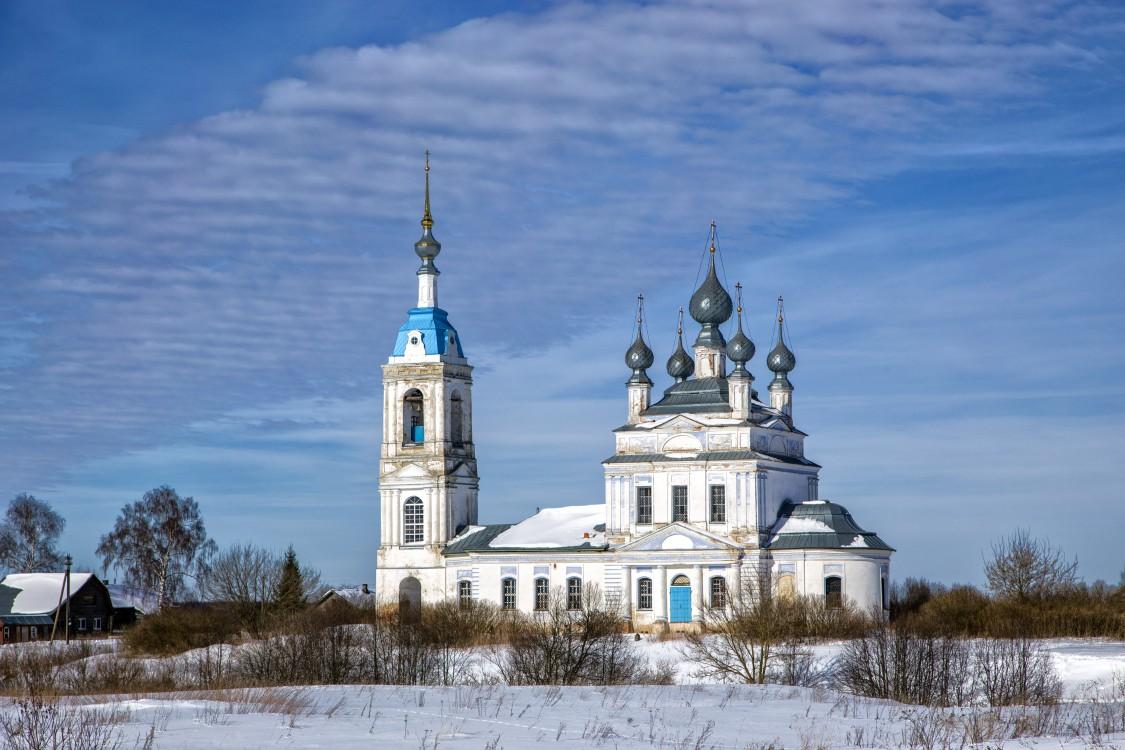 Церковь Рождества Пресвятой Богородицы, Савинское