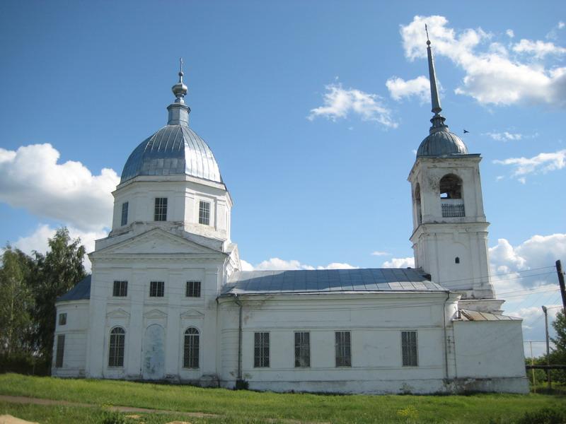 Церковь Вознесения Господня, Степаново
