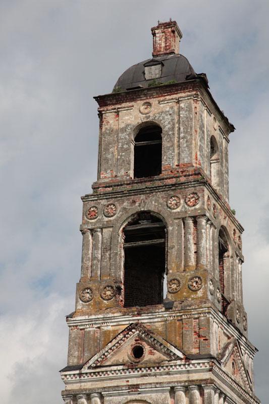 Церковь Василия Великого, Деревни