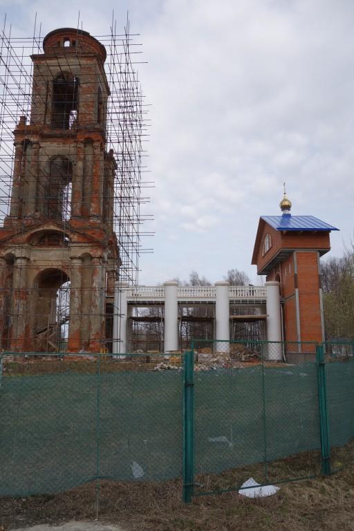 Колокольня церкви Троицы Живоначальной, Воронино