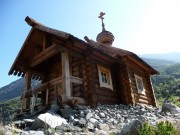 Часовня Михаила Архангела - Белуха, гора - Усть-Коксинский район - Республика Алтай