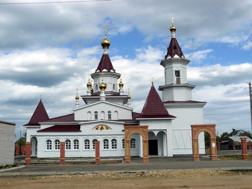 Церковь Рождества Иоанна Предтечи-Шелангер-Звениговский район-Республика Марий Эл