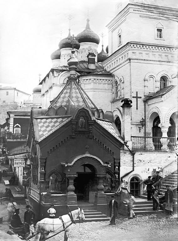Царская часовня при церкви Рождества Иоанна Предтечи, Нижний Новгород