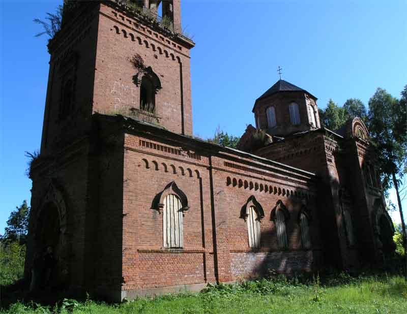 Церковь Николая Чудотворца, Синяя Никола