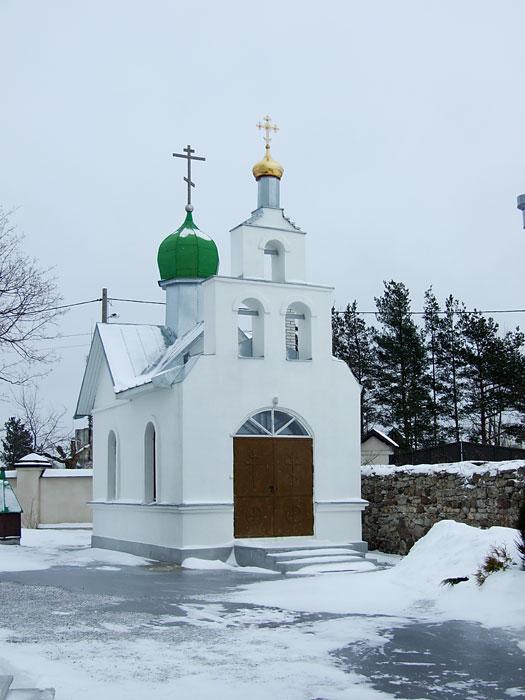 Пюхтицкий монастырь. Ильинский скит. Церковь иконы Божией Матери