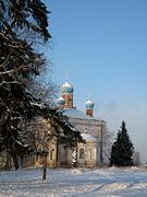 Церковь Троицы Живоначальной - Горелец - Парфеньевский район - Костромская область