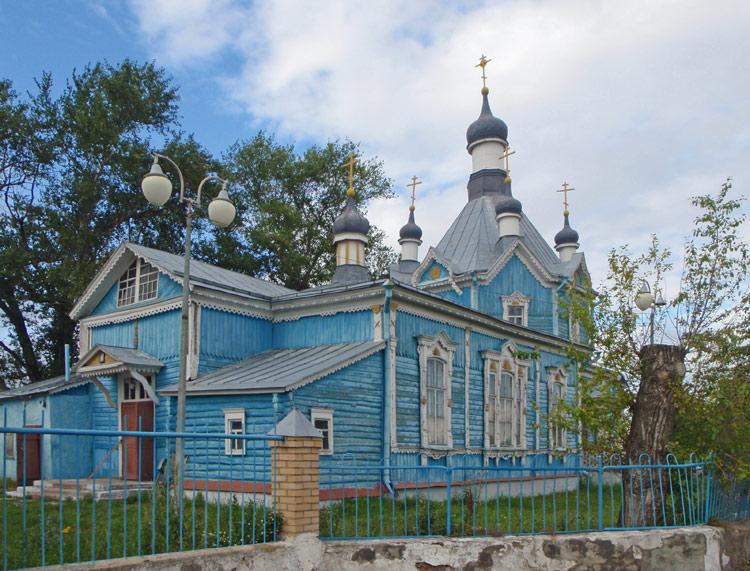 Церковь Успения Пресвятой Богородицы-Фирюлевка-Михайловский район-Рязанская область