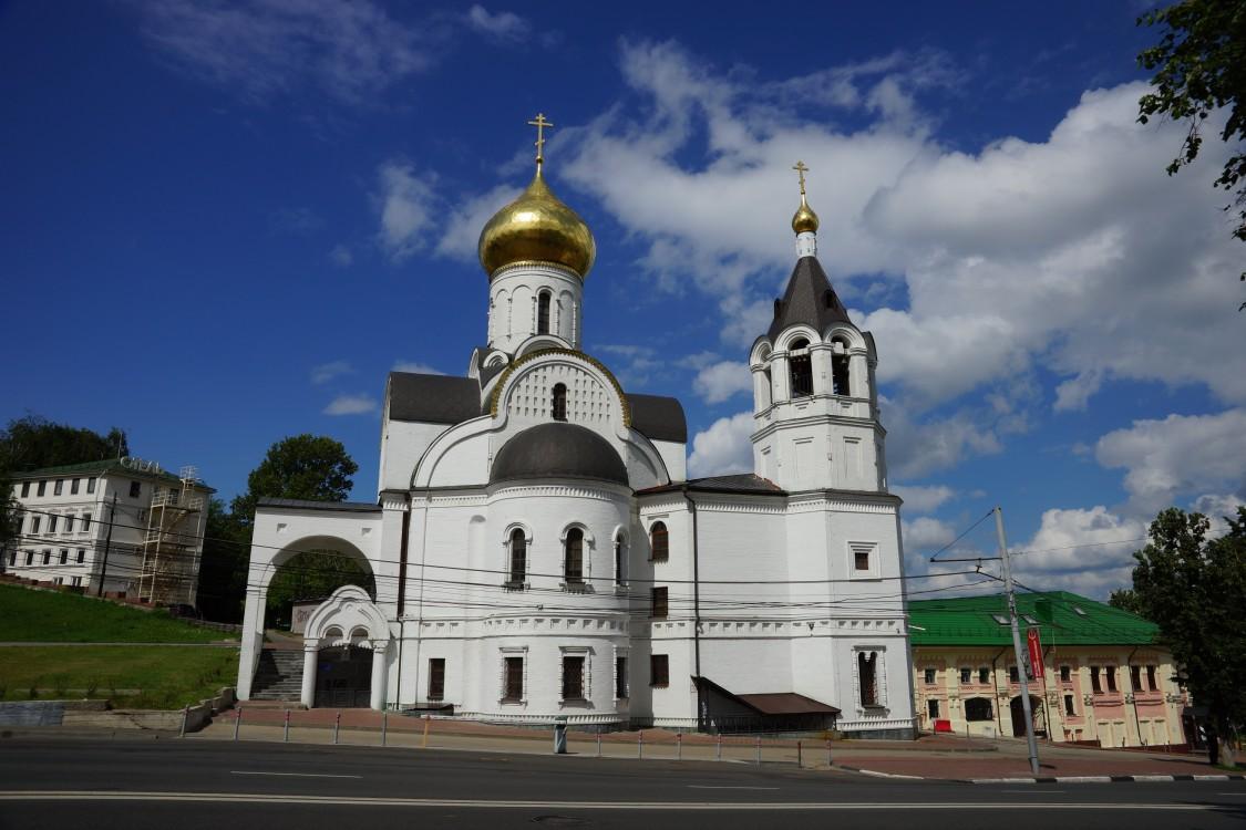 Церковь Казанской иконы Божией Матери над Зеленским съездом, Нижний Новгород