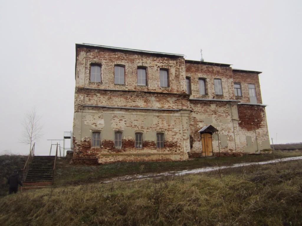 Церковь Рождества Пресвятой Богородицы (старая), Полдомасово