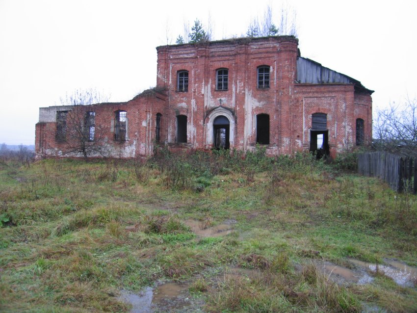 Церковь Троицы Живоначальной-Слободка-Угранский район-Смоленская область