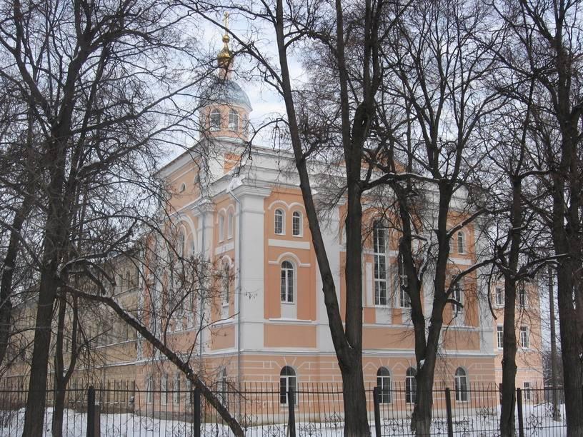 Как выглядит здание Тульской духовной семинарии.