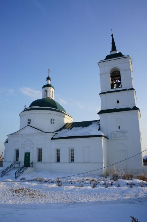 Церковь Троицы Живоначальной, Частоостровское
