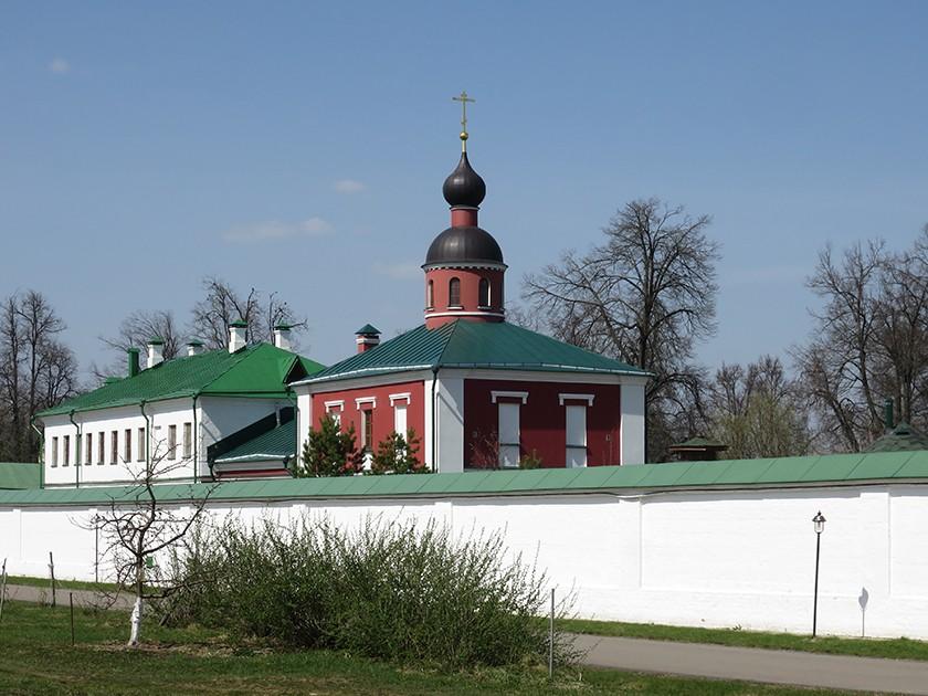 Аносин Борисоглебский монастырь. Церковь Анастасии Узорешительницы, Аносино