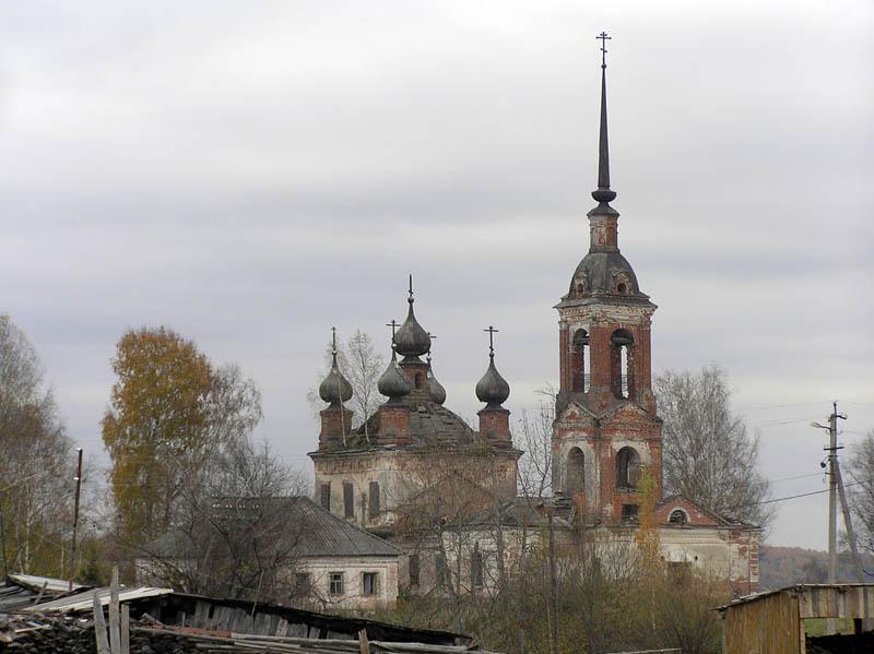 Церковь Благовещения Пресвятой Богородицы, Унорож