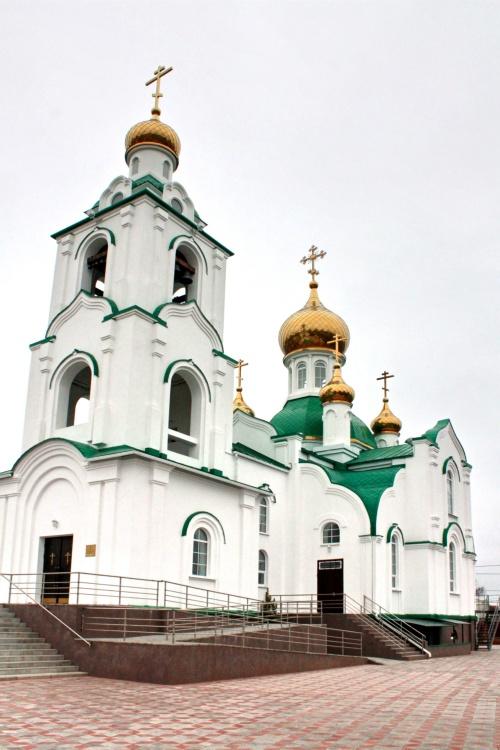 Церковь Димитрия Ростовского, Сальск