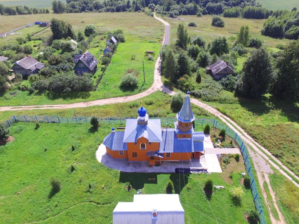 Церковь Покрова Пресвятой Богородицы, Никульское (Бужаниновского с/о)