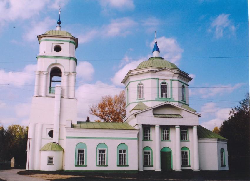 Церковь Всех Святых, Елатьма