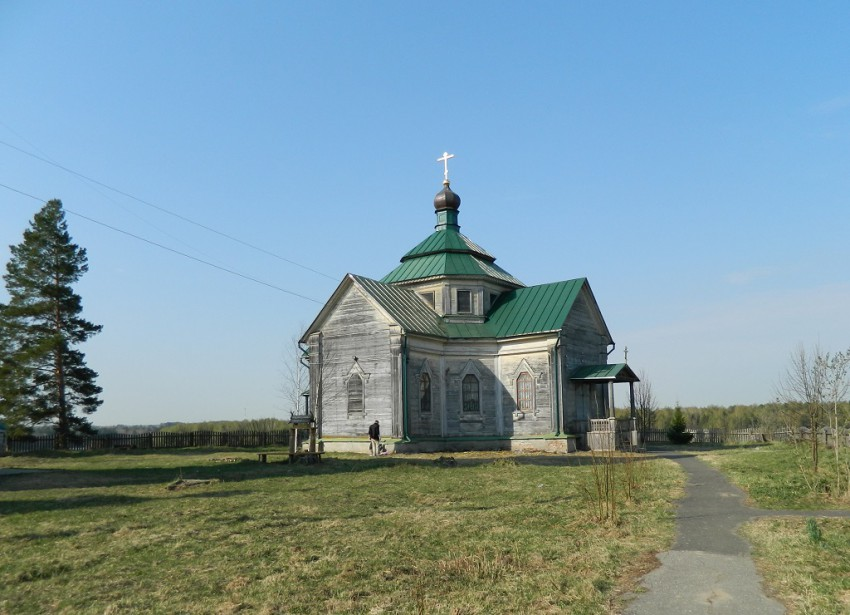 Церковь Зосимы и Савватия, Троицкое