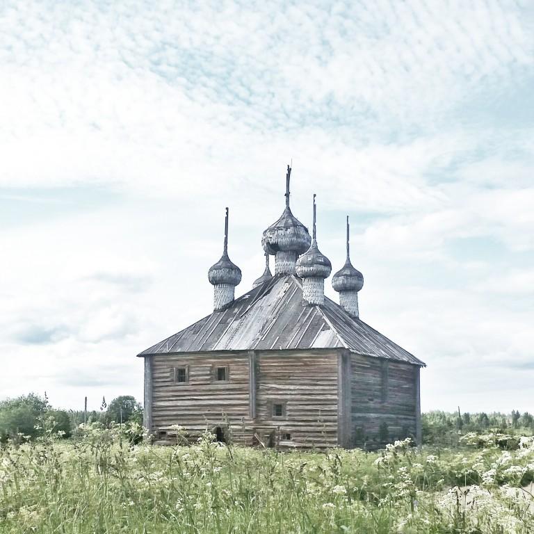 Церковь Спаса Преображения, Ижма