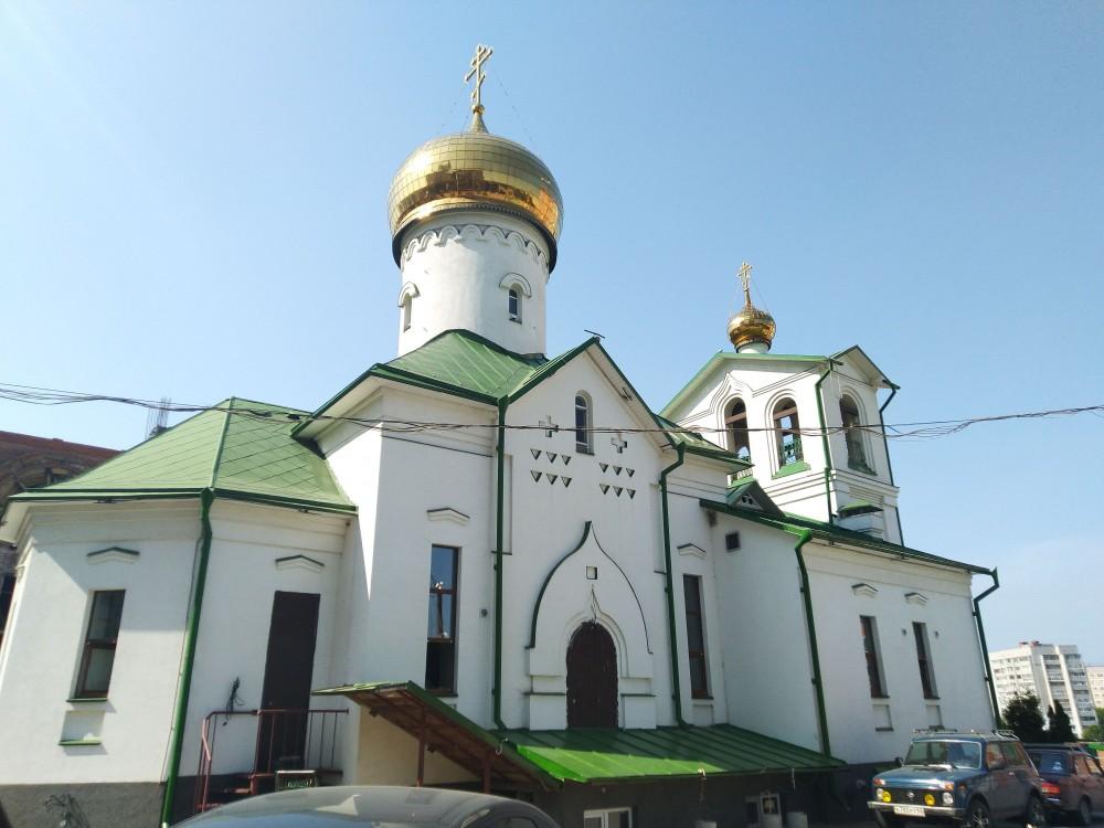 Церковь Воздвижения Креста Господня в Дашково-Песочне, Рязань