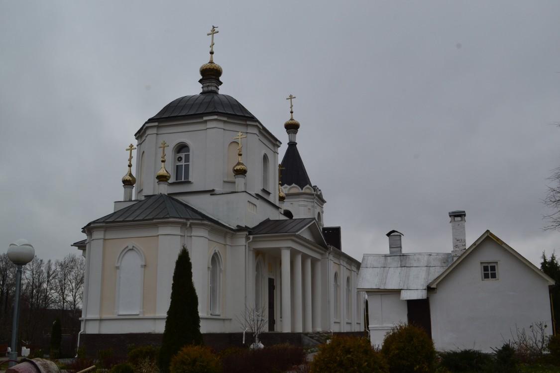 Покровский женский монастырь. Церковь Покрова Пресвятой Богородицы, Лукино