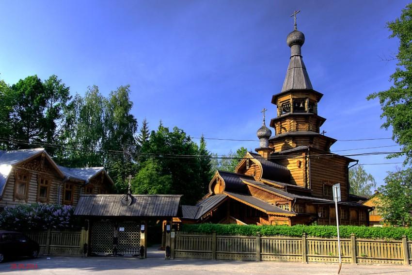 Церковь Покрова Пресвятой Богородицы-Ватутинки-Ленинский район-Московская область