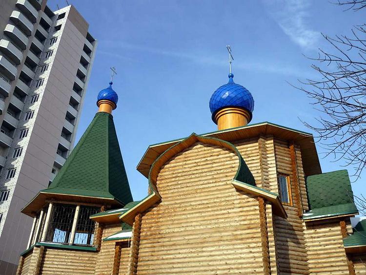 Церковь Воздвижения Креста Господня (новая), Волгоград