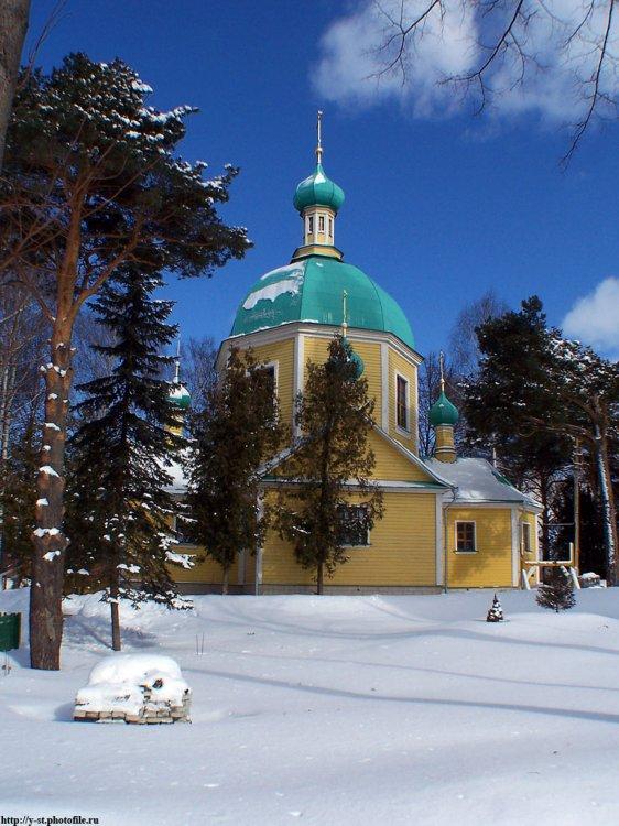 Спасо-Влахернский монастырь. Церковь  Димитрия Солунского, Деденево