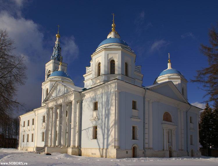 Спасо-Влахернский монастырь. Собор Спаса Нерукотворного Образа, Деденево