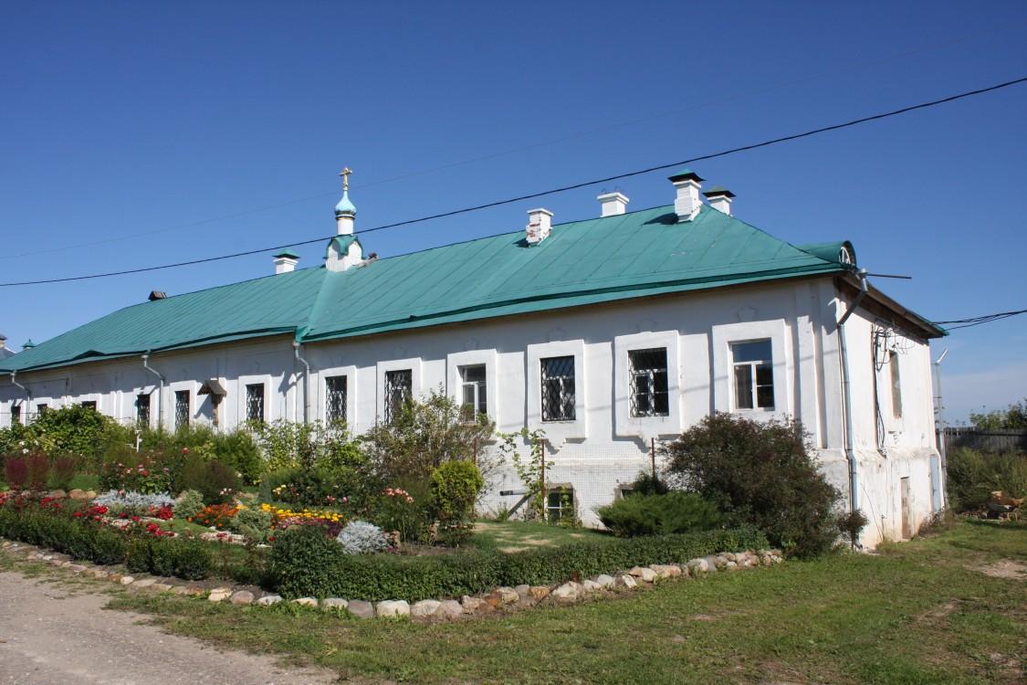 Успенский Колоцкий монастырь. Домовая церковь Елисаветы Феодоровны в келейном корпусе, Колоцкое