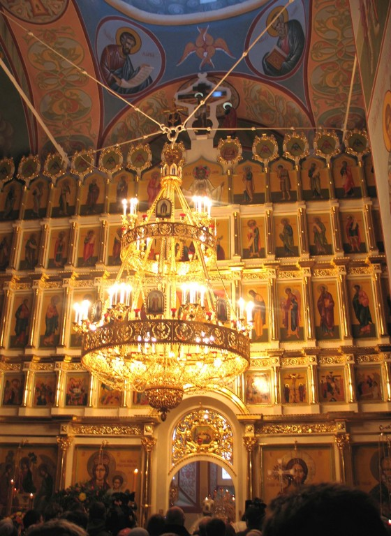 Николо-Пешношский монастырь. Собор Николая Чудотворца, Луговой