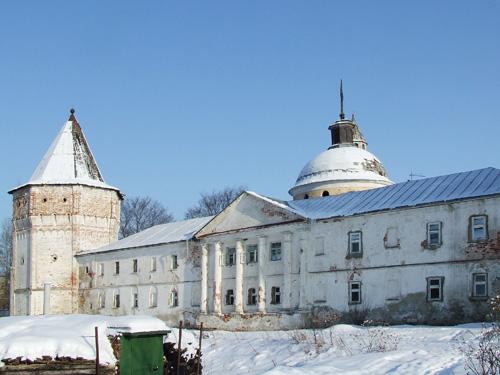 Николо-Пешношский монастырь. Церковь Димитрия, митрополита Ростовского, в больничном корпусе, Луговой