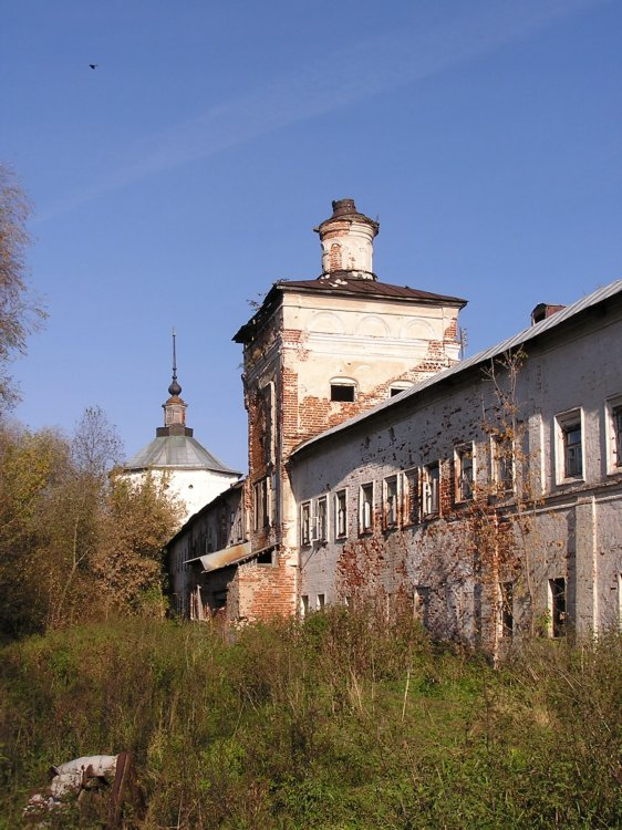 Николо-Пешношский монастырь. Церковь Спаса Преображения, Луговой