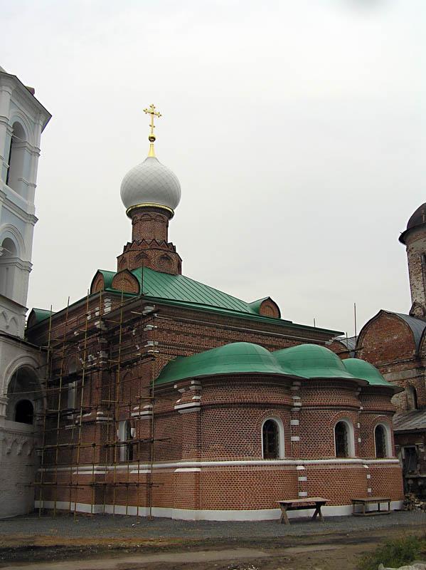 Николо-Пешношский монастырь. Церковь Сергия Радонежского, Луговой