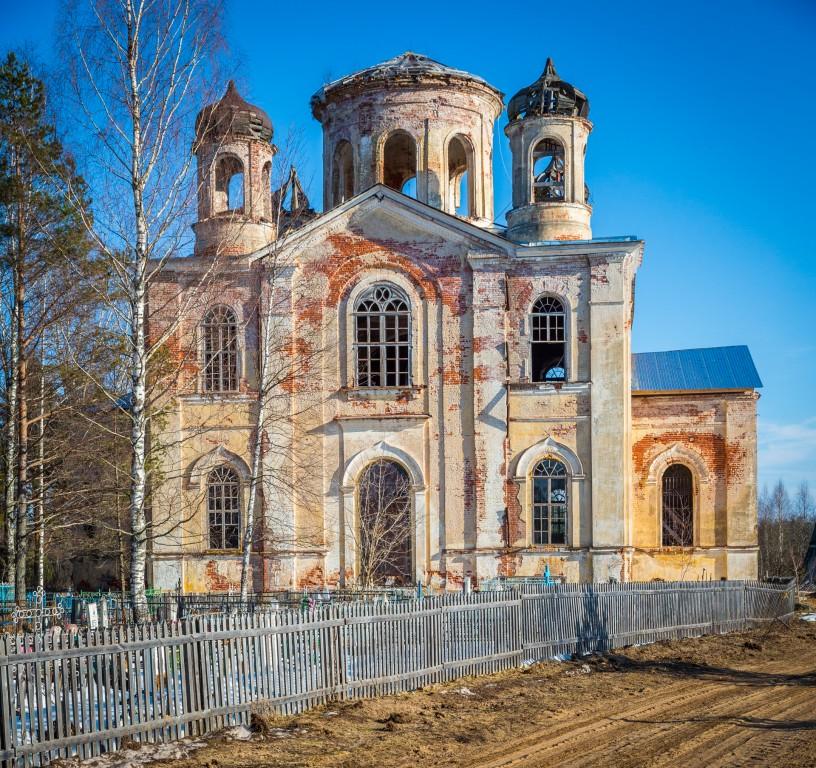 Церковь Николая Чудотворца, Николо-Бор, погост